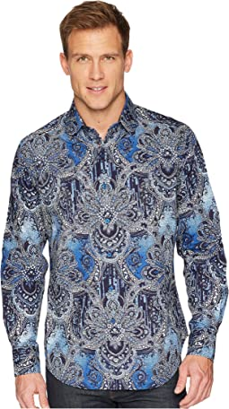 Rivero Long Sleeve Woven Shirt