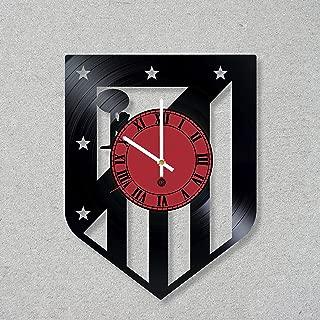 Vinyl Record Wall Clock Football Champions Atletico Madrid decor unique gift ideas for friends him her boys girls World Art Design