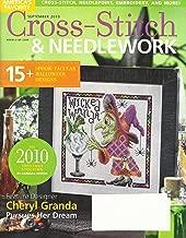 CROSS-STITCH & NEEDLEWORK Magazine September 2010 Volume 5 Issue 5 (American's Favorite, Cross stitch, needlepoint, embroidery, 15+ spook -Tacular Halloween Designs, Cheryl Granda Pursues her dream)