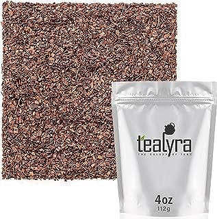 Tealyra - Honeybush Red Tea - Pure South African Red Bush - Herbal Tea Loose Leaf Tea - Relaxing Tea - High Antioxidants - Organically grown - Caffeine-Free - 112g (4-ounce)