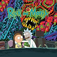 rick and morty vinyl record