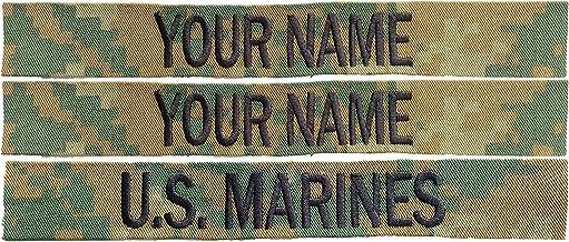 Custom USMC Woodland MARPAT Name Tapes ((SEW ON))