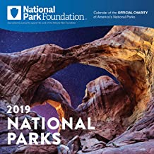 2019 National Park Foundation Wall Calendar
