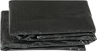 Economy Trampoline Weather Protection Cover, Rectangular Frames - Black