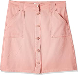 ONLY women's Farrah Skirts in Crabapple, Size: 40 EU (Manufacturer Size:Large)