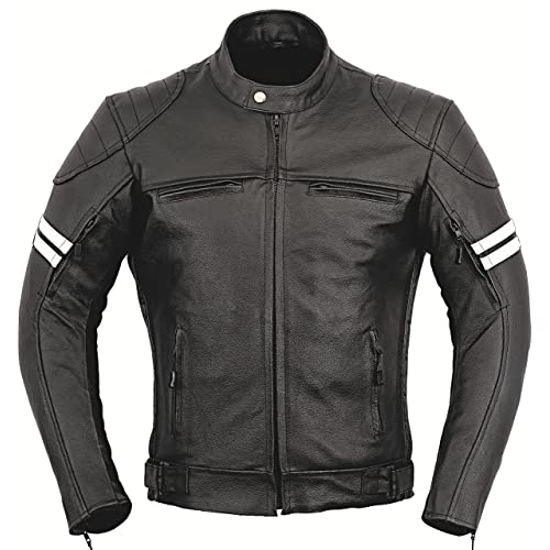 new products 0dfa3 d947e Franklin Motorbike Leather Protection Jacket XL