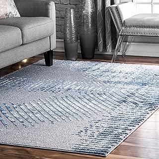 nuLOOM Ocean Area Rug, 5' x 8', Blue