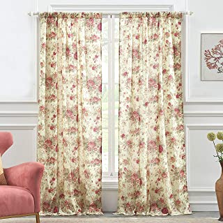 Best greenland home antique rose curtains Reviews