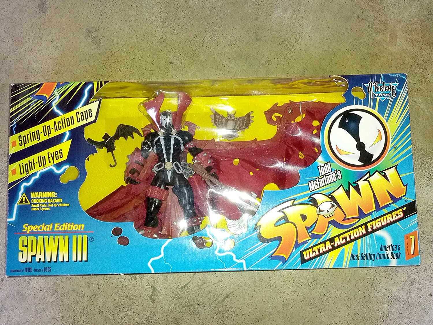 McFarlane Toys Spawn III Special Edition Series 7 Action Figure Boxed