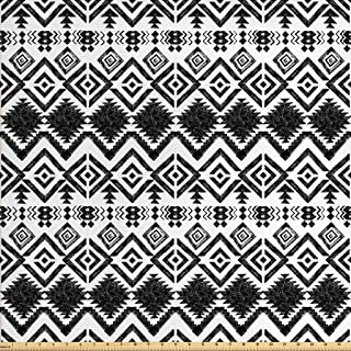 Best black and white aztec print fabric Reviews
