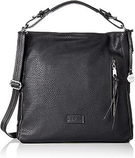 Venezia, Women's Shoulder Bag, Schwarz