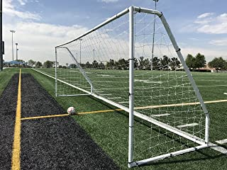 Pass Premier 18.5 X 6.5 Ft. Official Youth Regulation Steel Soccer Goal. 2