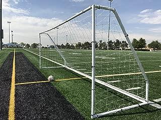 Pass Premier 18.5 X 6.5 Ft. Official Youth Regulation Steel Soccer Goal. 2