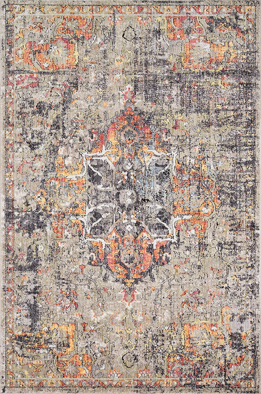 Loloi Medusa Collection High order Area Rug x Sunset Taupe Limited price 2'4