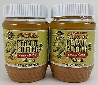 Trader Joe's Creamy Salted Organic Peanut Butter 16 Oz. 2 Pack
