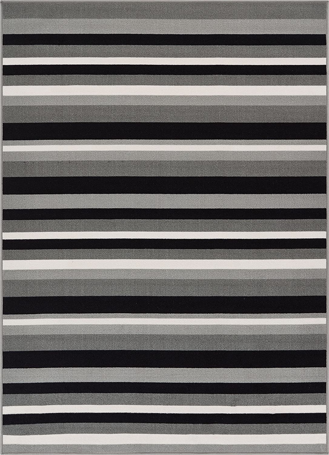 Well Ranking TOP3 OFFicial shop Woven Kings Court Uni Stripes Lines Grey Modern 5 Gemoetric