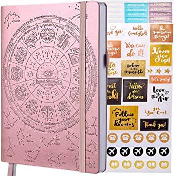 Law of Attraction Academic Planner July 2020 - June 2021 - Weekly & Monthly Planner to Increase Productivity & Happiness (Rose Gold B5 Size) + Bonus Stickers