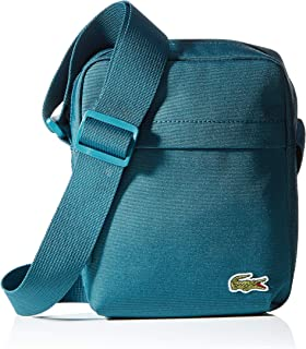 Lacoste Mens Vertical Camera Bag - Reflecting Pond Green