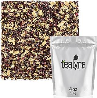 Tealyra - Flat Belly Detox - Fennel - Peppermint - Hibiscus - Wellness Herbal Loose Leaf Tea - Cleanse Tea ...