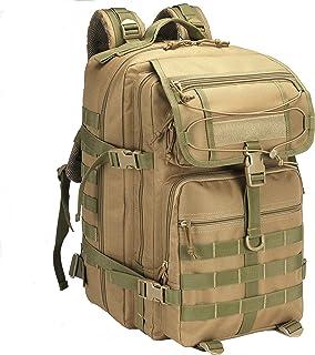 45L التخييم العسكرية التكتيكية حقيبة الظهر في الهواء الطلق طارد للماء حقائب الرياضة قابل للتعديل