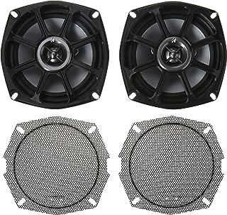 Kicker 875 Power Sport Series Coaxial Speaker - Pair (Black)