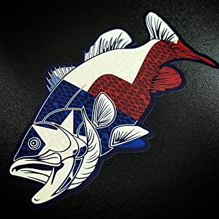 texas fishing decal