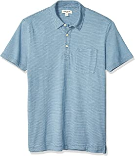 Amazon Brand - Goodthreads Men's Indigo Polo