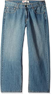 Boys' 550 Relaxed Fit Jeans