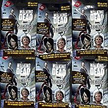 Walking Dead Etiquetas para Perros de la Temporada 5 de The 2016, 6 Paquetes
