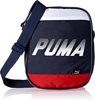 Puma 4 Ltrs Peacoat and Barbados Cherry Messenger Bag (7415502)