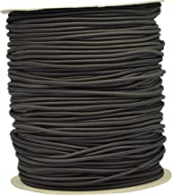 Corderie Italiane 002012078 Elastisch vlechtwerk, zwart