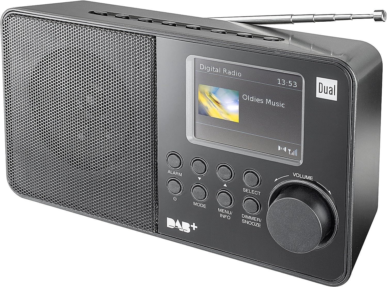 Dual Dab 18 C Digitalradio Ukw Dab Tuner Sendespeicherfunktion 7 1 Cm 2 8 Zoll Tft Farbdisplay Kopfhöreranschluss Schwarz Heimkino Tv Video