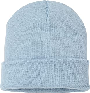 Outdoor Trading (TM) Soft-Knit Turn Up Beanie Hat - Slouchy Beanie Hat