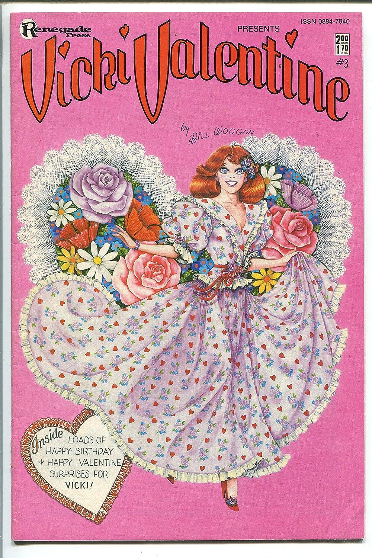 Vicki Valentine #3 1986- BILL WOGGON-- Paper Dolls- -fn+