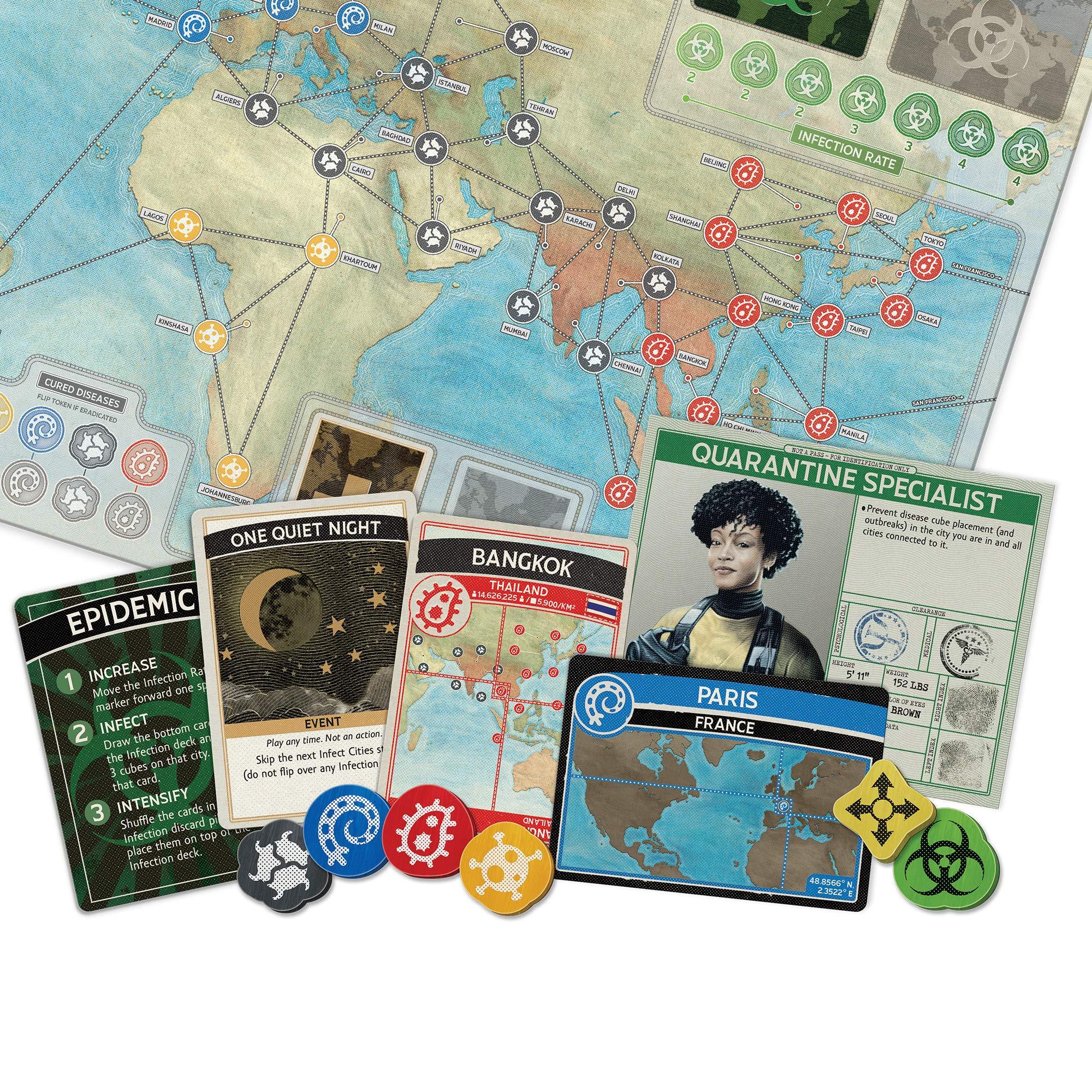 Juego de mesa Pandemic , color/modelo surtido: Amazon.es: Juguetes y juegos