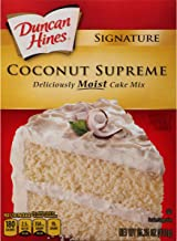 Duncan Hines Signature Cake Mix, Coconut, 15.25 Ounce