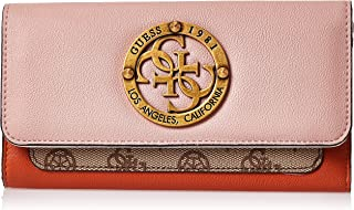 GUESS Womens Small Leather Goods, Pink (Rose Multi) - SB744166