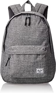 Herschel Supply Co. Classic Mid-Volume Backpack, Raven Crosshatch, One Size