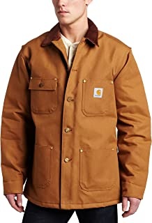 carhartt duck chore coat blanket lined