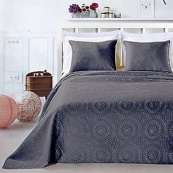 /z1177 Luxus Bett/überwurf 6-Teilig Rosa Braun Krem Pike Tagesdecke /Überwurf Farbe Pink