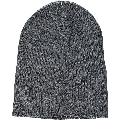 d8f079cbb4bde7 Beechfield Unisex B461.Sgr Slouch Beanie, Smoke Grey, One Size