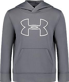 Under Armour Boys` Big Logo Hoodie