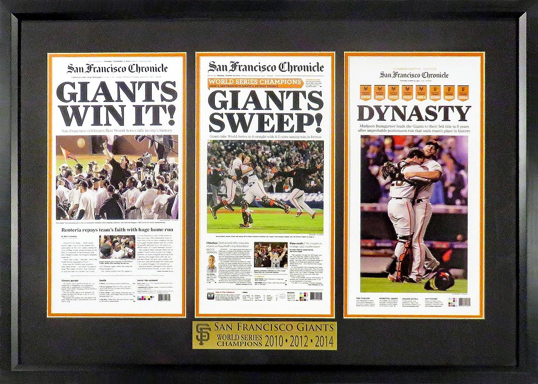 SF Giants 2010-2012-2014 Ranking TOP8 World Large Champions Under blast sales Mini-Newsp Series