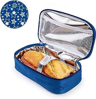 junkai Bolsa Isotermica De Almuerzo Nevera para Alimentos Frutas Porta De Comida para Llevar Bolsa T/érmica para Llevar Comidas Almuerzo Fiambrera Al Trabajo Y Playa