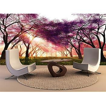 Papel tapiz de alta calidad de impresión de póster mural Cerezos en flor en el Jardín Japonés de arte de pared decoración Foto Papel tapiz: Amazon.es: Bricolaje y herramientas