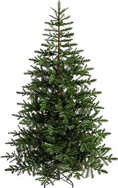 WeRChristmas Nordmann - Árbol de Navidad (plástico, 1,8 m), Color Verde, plástico, Verde, 6 Feet/1.8 m