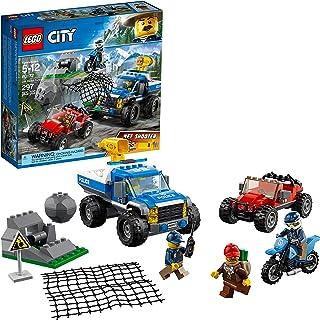 LEGO City Dirt Road Pursuit 60172 Building Kit Multicolor