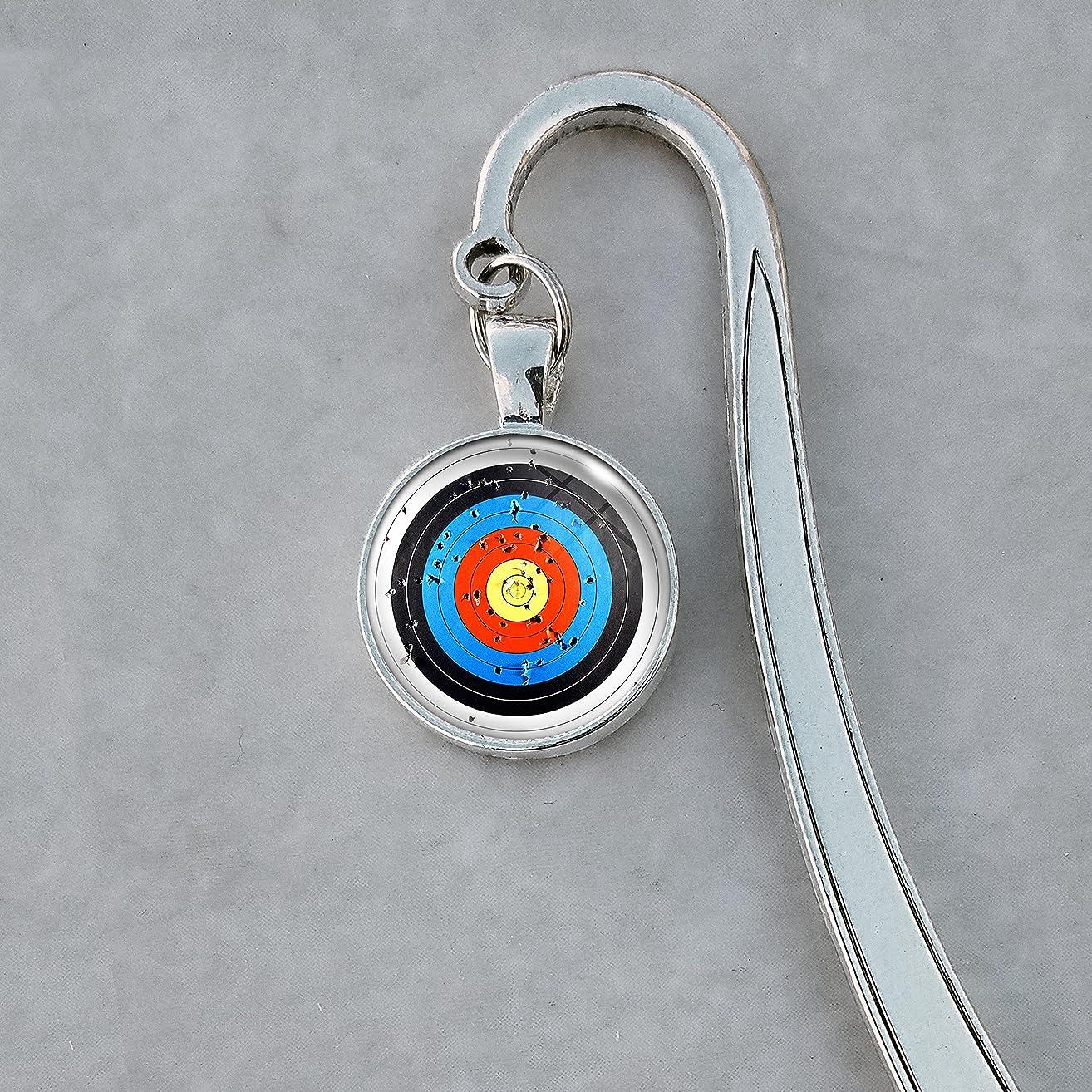Archery Target Bookmark