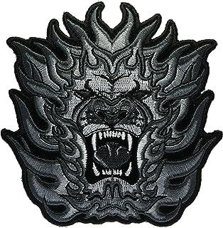 Tribal lion bestickt Patch 10,2 cm ivanp3296s