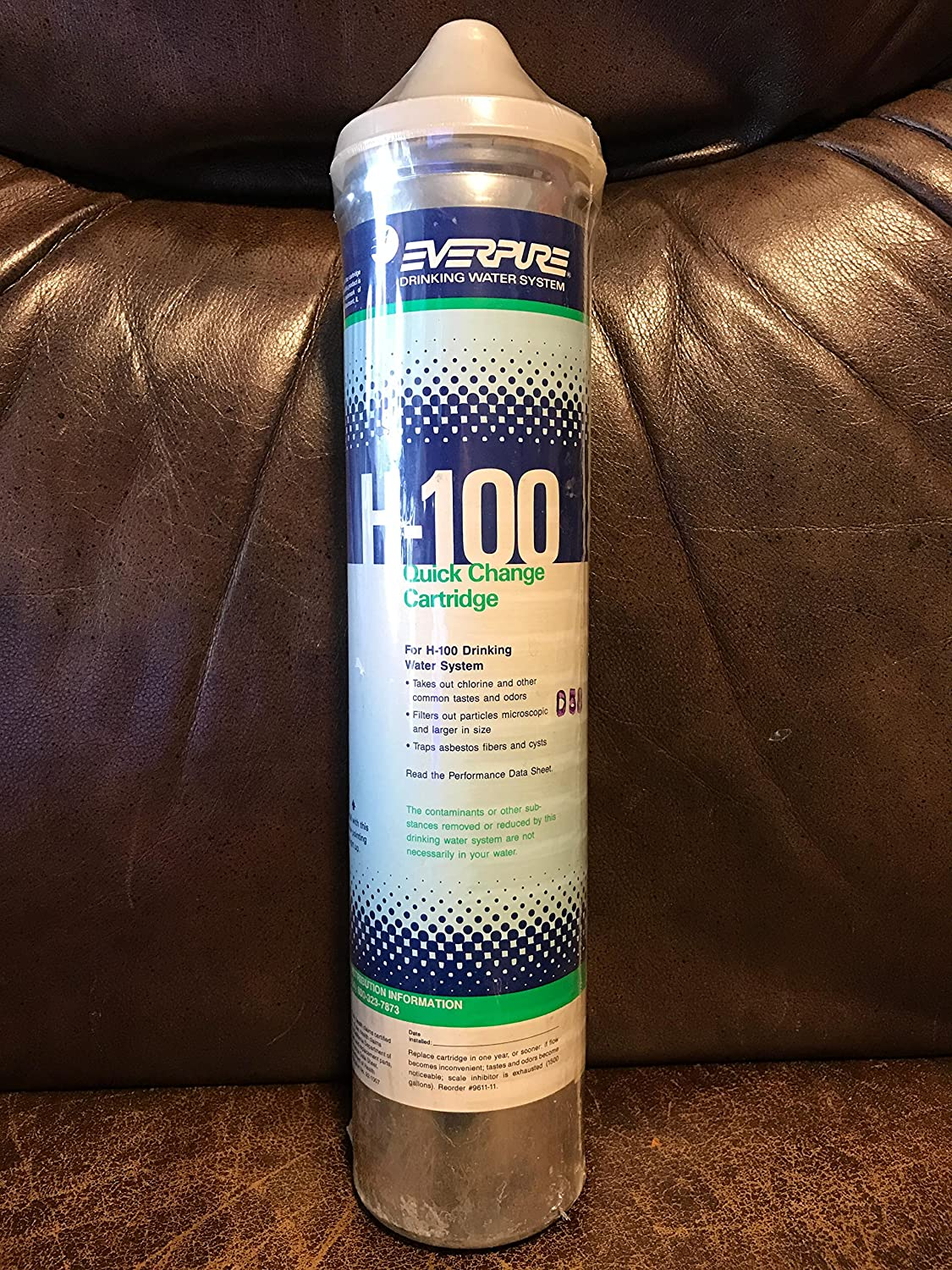 Everpure H-100 Replacement Water Cartridge New sales Today's only Filter EV9611-16